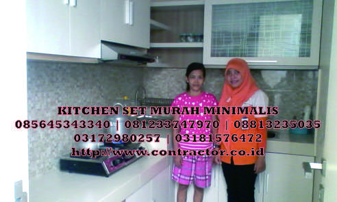 Kitchen Set Murah Minimalis