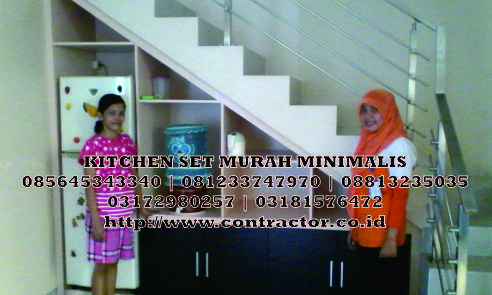 Kitchen Set Murah Minimalis Surabaya